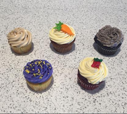 *One dozen Kato Cupcakes - Specialty (325-415 Cal/Cupcake)*